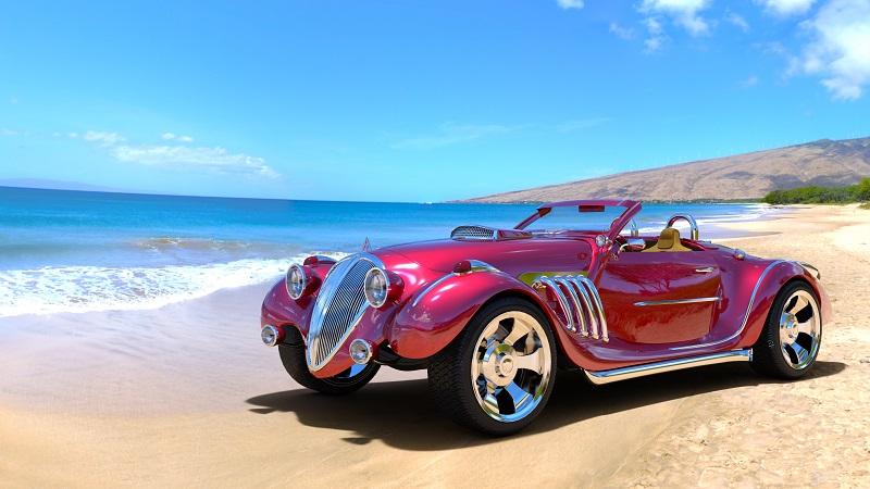 Design, Technik und auch die Rennsport-Historie vom Auto, lassen das Modell zur Ikone werden.(#01)