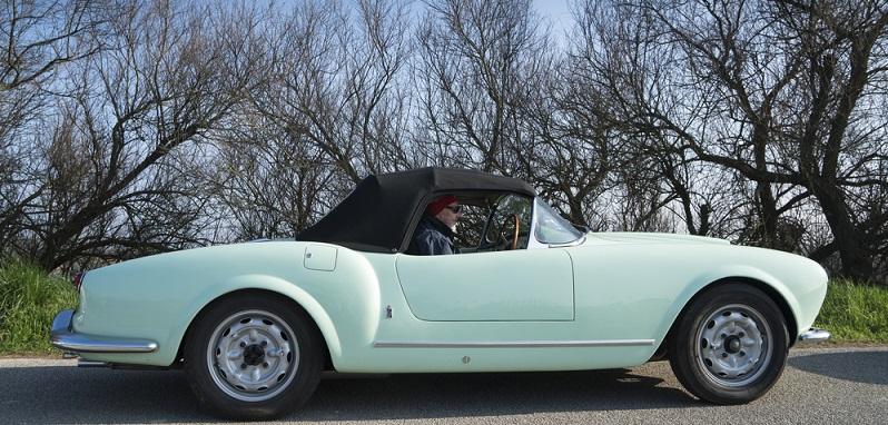 Kommen wir nun zu einem wirklich alten Oldtimer, nämlich dem Lancia B 24 Spider. (#04)