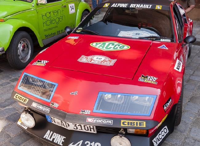Einer der coolsten Sportwagen, die sogar die steuerlichen Vorteile eines über dreißig Jahre alten Oldtimers haben, ist der Alpine A310. (#02)