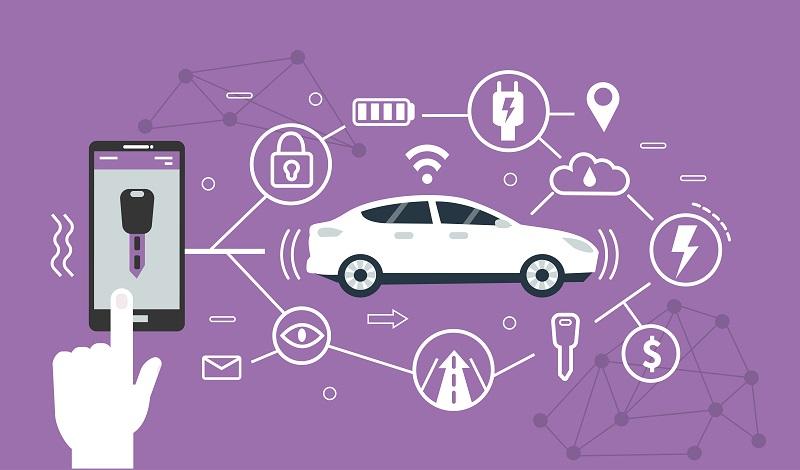 Die Adapter erlauben einen drahtlosen Zugriff auf wichtige Fahrzeuginformationen oder -steuerungen per Smartphone. (#01)