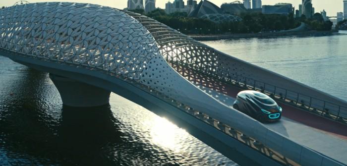 Mercedes Concept Car: die Mobilität der Zukunft. (Foto: Mercedes-Benz)