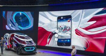 Autonomes Fahren Mercedes: Komfort, Sicherheit und wirtschaftlicher Nutzen. (Foto: Daimler)